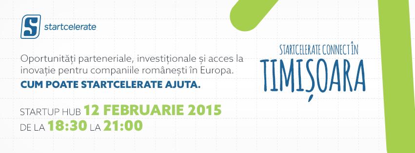 Startcelerate Connect Timisoara