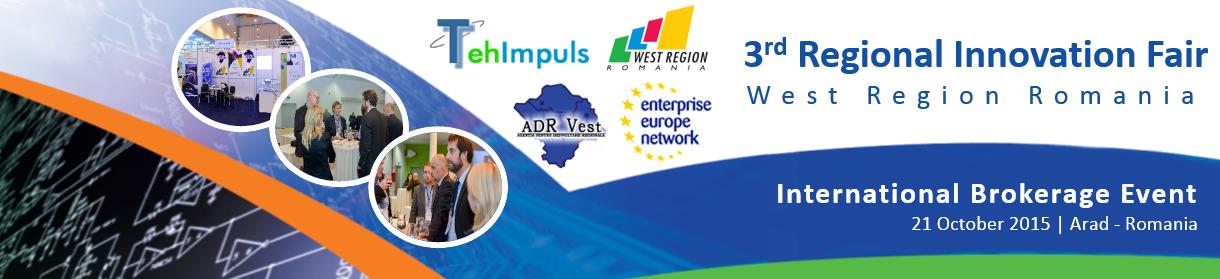 Regional innovation fair 2015 (Targul Regional de Inovare 2015)